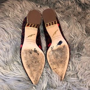 Anthropologie Shoes - Anthro Brian Atwood Aztec Bloch heel pointed 7.5